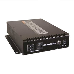 Sine wave Inverter 24VDC 1500W w / Ethernet